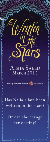 Bookmark Aisha Front